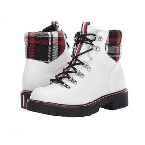 Tommy Hilfiger | Lariti White Lace up Hiker Boot
